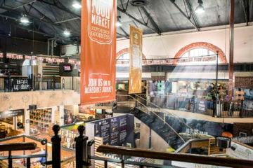 The V&A Food Market interior