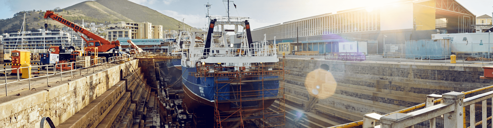 V&A Waterfront dry dock
