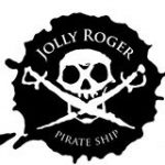 Jolly Roger Pirate Boat logo