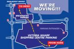 Map showing where Kwikfit V&A Store is moving to
